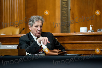 Kennedy Photo - United States Senator John Neely Kennedy (Republican of Louisiana) speaks at a hearing to examine the nomination of Neera Tanden President Joe Bidens nominee for Director of the Office of Management and Budget (OMB) with the Senate Committee on the Budget on Capitol Hill in Washington on February 10th 2021Credit Anna Moneymaker  Pool via CNPAdMedia