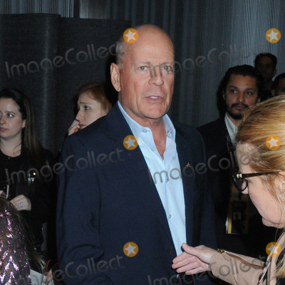 Bruce Willis Photo - 11 October 2019 - New York New York - Bruce Willis Motherless Brooklyn Premiere during the 57th New York Film Festival Photo Credit AdMedia