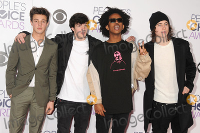 Aaron Carpenter Photo - 6 January 2016 - Los Angeles California - Cameron Dallas Aaron Carpenter Peoples Choice Awards 2016 - Arrivals held at The Microsoft Theater Photo Credit Byron PurvisAdMedia