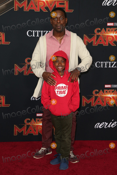 Andrew Brown Photo - 04 March 2019 - Hollywood California - Sterling K Brown Andrew Brown Captain Marvel Los Angeles Premiere held at El Capitan Theater Photo Credit Faye SadouAdMedia