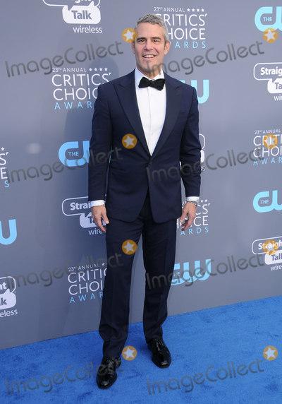 Andy Cohen Photo - 11 January 2018 - Santa Monica California - Andy Cohen 23rd Annual Critics Choice Awards held at Barker Hangar Photo Credit Birdie ThompsonAdMedia