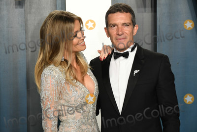 Antonio Banderas Photo - 09 February 2020 - Los Angeles California - Antonio Banderas Nicole Kimpel 2020 Vanity Fair Oscar Party following the 92nd Academy Awards held at the Wallis Annenberg Center for the Performing Arts Photo Credit Birdie ThompsonAdMedia