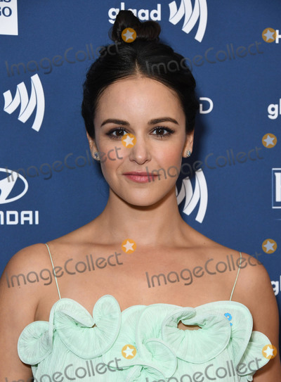 Melissa Fumero Photo - 28 March 2019 - Beverly Hills California - Melissa Fumero 30th Annual GLAAD Media Awards held at Beverly Hilton Hotel Photo Credit Birdie ThompsonAdMedia