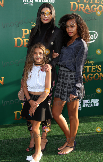 Ava Dash Photo - 8 August 2016 - Los Angeles California - Rachel Roy with daughters Tallulah Ruth Dash and Ava Dash Petes Dragon World Premiere held at El Capitan Theatre in Hollywood Photo Credit AdMedia