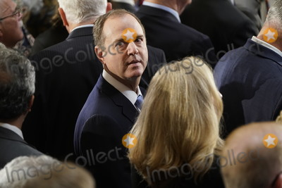 Adam Schiff Photo - United States Representative Adam Schiff (Democrat of California) Chairman US House Permanent Select Committee on Intelligence awaits the start of a memorial service in honor of US Representative Elijah Cummings (Democrat of Maryland) who died on October 17 and who will lie in state in Statuary Hall at the US Capitol in Washington DC US October 24 2019Credit Joshua Roberts  Pool via CNPAdMedia