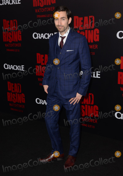 Zach Lipvsky Photo - 11 March 2015 - Los Angeles California - Zach Lipvsky  Arrivals for Crackles world premiere original feature film Dead Rising Watchtower held at the Kim Novak Theater at Sony Pictures Studios Photo Credit Birdie ThompsonAdMedia