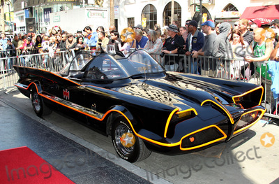 Batmobile Batman Photo - 05 April 2012 - Hollywood California - Batmobile Batman Kapow Adam West Honored With Star On The Hollywood Walk Photo Credit Russ ElliotAdMedia