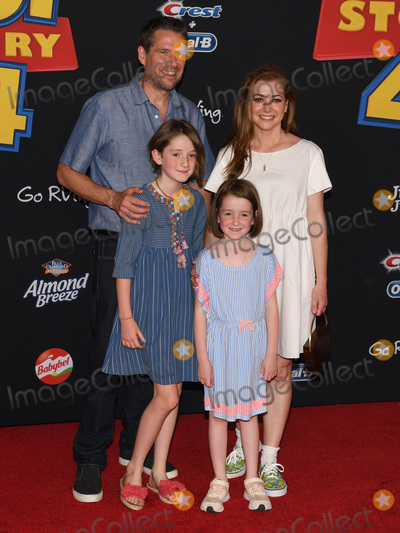 Alexis Denisof Photo - 12 June 2019 - Hollywood California - Alyson Hannigan Alexis Denisof Satyana Marie Denisof Keeva Jane Denisof Toy Story 4 Disney and Pixar Los Angeles Premiere held at El Capitan Theatre Photo Credit Billy BennightAdMedia