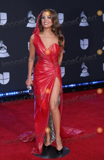 Thalia Photo - 14 November 2019 - Las Vegas NV - Thalia 2019 Latin Grammy Awards Red Carpet Arrivals at MGM Grand Garden Arena Photo Credit MJTAdMedia
