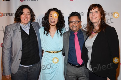 Alec Mapa Photo - 15 March 2014 - Hollywood California - KP Pepe Sandra Oh Alec Mapa and Kirsten Schaffer 2014 Outfest Fusion Achievement Award at the 2014 Fusion Gala LGBT People of Color Film Festival held at the Egyptian Theatre Photo Credit Tonya WiseAdMedia