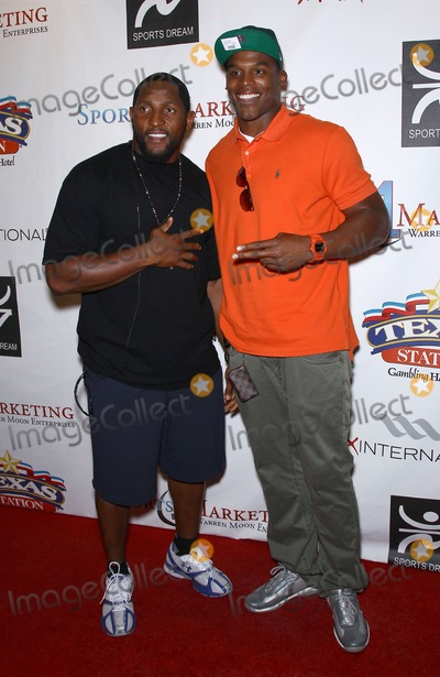 Ray Lewis Photo - 25 June 2011 - Las Vegas Nevada - Ray Lewis Cam Newton Warren Moon hosts The Eleventh Annual Sports Dream Bowl Benefit in Las Vegas at Texas Station Las Vegas  Photo Credit MJTAdMedia