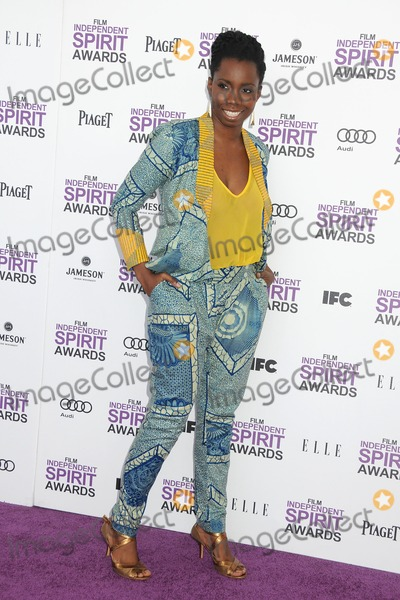 Adepero Oduye Photo - 25 February 2012 - Santa Monica California - Adepero Oduye 2012 Film Independent Spirit Awards - Arrivals held at Santa Monica Beach Photo Credit Byron PurvisAdMedia