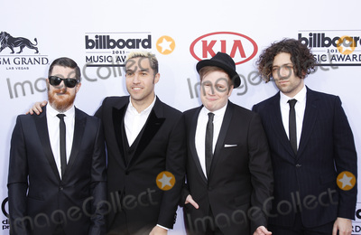 Andy Hurley Photo - 17 May 2015 - Las Vegas Nevada - Fall Out Boy Andy Hurley Pete Wentz Patrick Stump Joe Trohman 2015 Billboard Music Awards Arrivals at the MGM Grand Garden Arena Photo Credit MJTAdMedia
