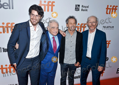 Brian Grazer Photo - 05 September 2019 - Toronto Ontario Canada - Daniel Roher Martin Scorsese Brian Grazer and Ron Howard 2019 Toronto International Film Festival - Once Were Brothers Robbie Robertson And The Band Premiere held at Roy Thomson Hall Photo Credit Brent PerniacAdMedia