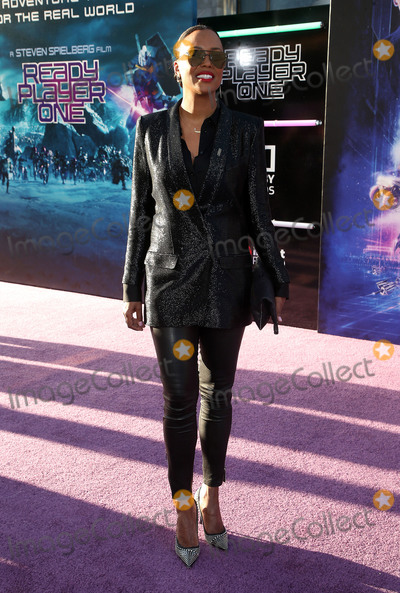Aisha Tyler Photo - 26 March 2018 - Hollywood California - Aisha Tyler Warner Bros Pictures Ready Player One Los Angeles Premiere held at the Dolby Theatre Photo Credit F SadouAdMedia