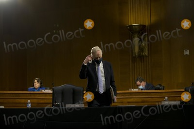 Angus King Photo - United States Senator Angus King Jr (Independent of Maine) enters the room as US Representative John Ratcliffe (Republican of Texas) testifies before the US Senate Select Committee on Intelligence nomination hearing for Director of National Intelligence at the Dirksen Senate Office building on Capitol Hill in Washington DC on Tuesday May 5 2020 Credit Gabriella Demczuk  Pool via CNPAdMedia