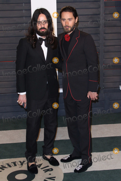 Jared Leto Photo - 28 February 2016 - Beverly Hills California - Alessandro Michele Jared Leto 2016 Vanity Fair Oscar Party hosted by Graydon Carter following the 88th Academy Awards held at the Wallis Annenberg Center for the Performing Arts Photo Credit AdMedia