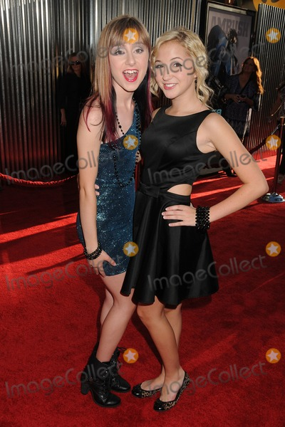Allisyn Arm Photo - 2 October 2011 - Universal City California - Allisyn Arm and Audrey Whitby Real Steel Los Angeles Premiere held at Universal Gibson Amphitheatre Photo Credit Byron PurvisAdMedia