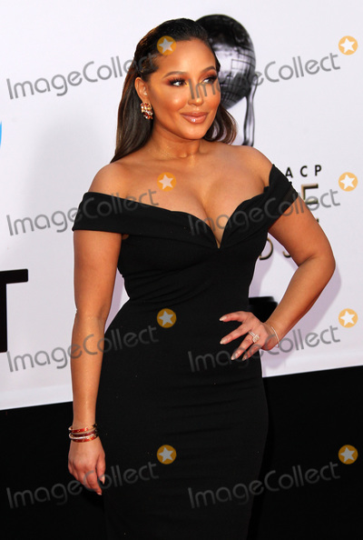 Adrienne Houghton Photo - 15 January 2018 - Pasadena California - Adrienne Houghton 49th NAACP Image Awards 2018 Arrivals held at the Pasadena Civic Auditorium in Pasadena Photo Credit AdMedia