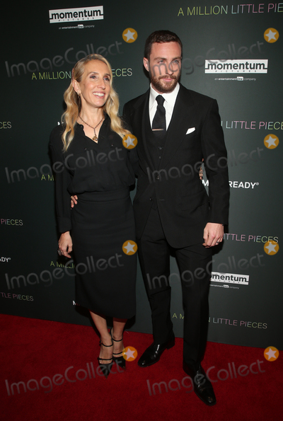 Sam Taylor Photo - 4 December 2019 - West Hollywood California - Aaron Taylor-Johnson Sam Taylor-Johnson Special Screening Of Momentum Pictures A Million Little Pieces held at The London Hotel Photo Credit FSAdMedia
