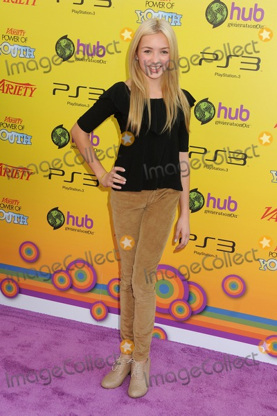 Peyton List Photo - 22 October 2011 - Los Angeles California - Peyton List Varietys 5th Annual Power Of Youth Event held at Paramount Studios Photo Credit Byron PurvisAdMedia