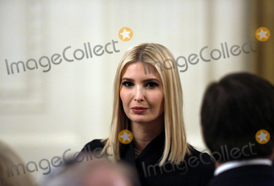 Benjamin Netanyahu Photo - Senior Adviser to President Trump Ivanka Trump attends a meeting with United States President Donald J Trump and Israels Prime Minister Benjamin Netanyahu in the East Room of the White House in Washington DCon Tuesday January 28 2020 Credit Joshua Lott  CNPAdMedia