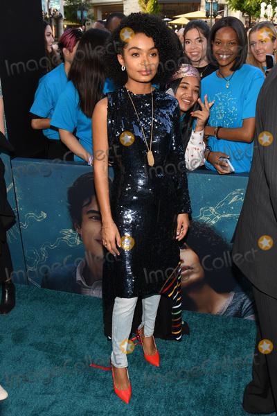 Yara Shahidi Photo - 13 May 2019 - Los Angeles California - Yara Shahidi World Premiere of Warner Bros The Sun Is Also A Star held at Pacific Theatres at The Grove Photo Credit Billy BennightAdMedia