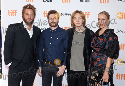 Andrew Haigh Photo - 11 September 2017 - Toronto Ontario Canada - Travis Fimmel  Andrew Haigh Charlie Plummer and Chloe Sevigny 2017 Toronto International Film Festival - Lean On Pete Premiere held at The Elgin Photo Credit Brent PerniacAdMedia