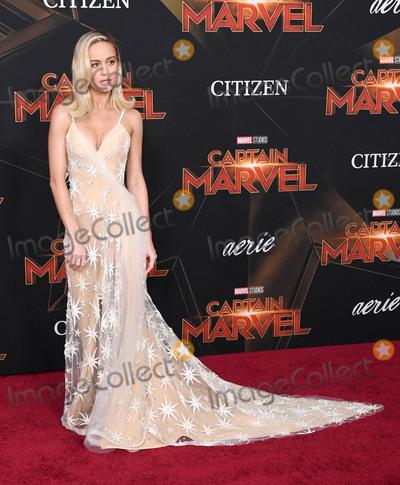Brie Larson Photo - 04 March 2019 - Hollywood California - Brie Larson Captain Marvel Los Angeles Premiere held at El Capitan Theater Photo Credit Birdie ThompsonAdMedia