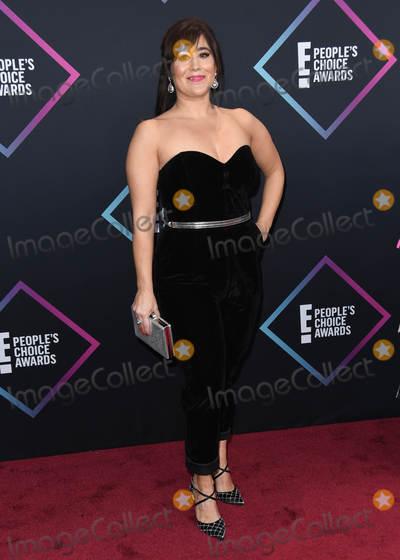 Emily Andras Photo - 11 November 2018 - Santa Monica California - Emily Andras 2018 E Peoples Choice Awards - Arrivals held at Barker Hangar Photo Credit Birdie ThompsonAdMedia