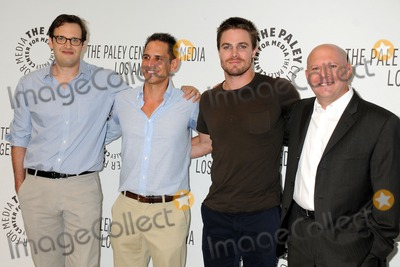 Andrew Kreisberg Photo - 8 September 2012 - Beverly Hills California - Andrew Kreisberg Greg Berlanti Stephen Amell Marc Guggenheim PaleyFest 2012 Fall TV Preview - Arrow held at The Paley Center Photo Credit Byron PurvisAdMedia