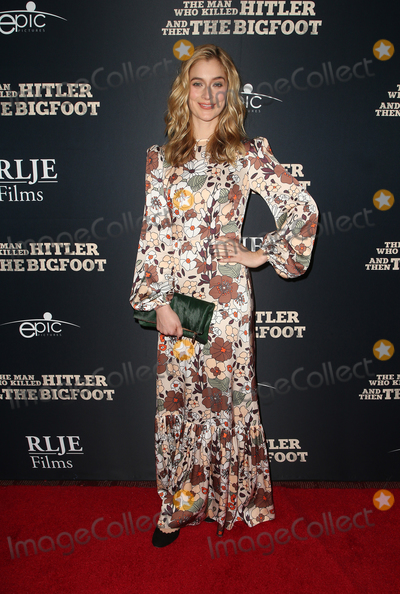 Caitlin Fitzgerald Photo - 4 February 2019 - Hollywood California - Caitlin Fitzgerald RLJE Films The Man Who Killed Hitler And Then Bigfoot Premiere held at ArcLight Hollywood Photo Credit Faye SadouAdMedia