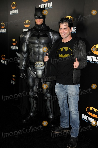 Adam Green Photo - 27 September 2012 - Los Angeles California - Adam Green Batman Live World Arena Tour Premiere held at the Staples Center Photo Credit Byron PurvisAdMedia