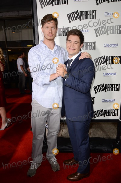 Adam DeVine Photo - 24 September 2012 - Hollywood California - Anders Holm Adam DeVine  The premiere of Universal Pictures And Gold Circle Films Pitch Perfect held at ArcLight Cinemas Photo Credit Tonya WiseAdMedia