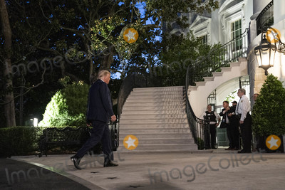 Eagles Photo - United States President Donald J Trump walks from Marine One to the White House in Washington DC US on Wednesday July 29 2020 President Trump traveled to Texas to tour the Double Eagle Energy Oil Rig  Credit Sarah Silbiger  Pool via CNPAdMedia