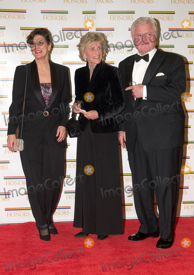 John F Kennedy Photo - United States Senator Edward M (Ted) Kennedy (Democrat of Massachusetts) right his wife Victoria Reggie Kennedy left and sister former United States Ambassador to Ireland Jean Kennedy Smith arrive at the Harry S Truman Building (Department of State) in Washington DC on December 4 2004 for a dinner hosted by United States Secretary of State Colin Powell  At the dinner six performing arts legends will receive the Kennedy Center Honors of 2004  This is the 27th year that the honors have been bestowed on extraordinary individuals whose unique and abundant artistry has contributed significantly to the cultural life of our nation and the world said John F Kennedy Center for the Performing Arts Chairman Stephen A Schwarzman  The award recipients are actor director producer and writer Warren Beatty husband-and-wife actors writers and producers Ossie Davis and Ruby Dee singer and composer Elton John soprano Joan Sutherland and composer and conductor John WilliamsCredit Ron Sachs  CNPAdMedia