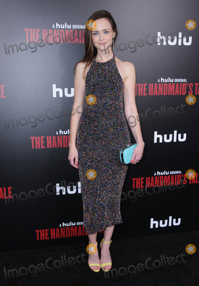 Alexis Biedel Photo - 25 April 2017 - Hollywood California - Alexis Biedel Los Angeles premiere of Hulus The Handmaids Tale held at ArcLight Hollywood in Hollywood Photo Credit Birdie ThompsonAdMedia