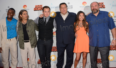 Noah Munck Photo - 20 May 2013 - Hollywood Ca - Cassius Crieghtney Michael Imperioli Noah Munck Steve Schirippa Cristine Prosperi James GandolfiniLos Angeles premiere of Nicky Deuce at ArcLight Theater in Hollywood CaPhoto Credit BirdieThompsonAdMedia
