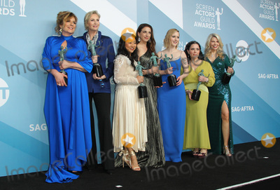Alex Borstein Photo - 19 January 2020 - Los Angeles California - Caroline Aaron Jane Lynch Stephanie Hsu Marin Hinkle Rachel Brosnahan Alex Borstein and Matilda Szydagis 26th Annual Screen Actors Guild Awards held at The Shrine Auditorium Photo Credit AdMedia