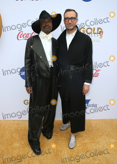 Nadia Comaneci Photo - 05 January 2019 - West Hollywood California - Billy Porter and Adam Smith 6th Annual Gold Meets Golden Party Hosted by Nicole Kidman and Nadia Comaneci held at the House on Sunset Photo Credit Faye SadouAdMedia
