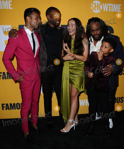 Cleopatra Coleman Photo - 27 September  2017 - West Hollywood California - Utkarsh Ambudkar Lonnie Chavis Jay Pharoah Cleopatra Coleman Jacob Ming-Trent World premiere of Showtimes White Famous held at The Jeremy in West Hollywood Photo Credit Birdie ThompsonAdMedia