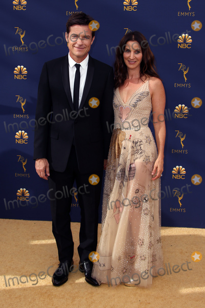 Amanda Anka Photo - 17 September 2018 - Los Angles California - Jason Bateman Amanda Anka 70th Primetime Emmy Awards held at Microsoft Theater LA LIVE Photo Credit Faye SadouAdMedia
