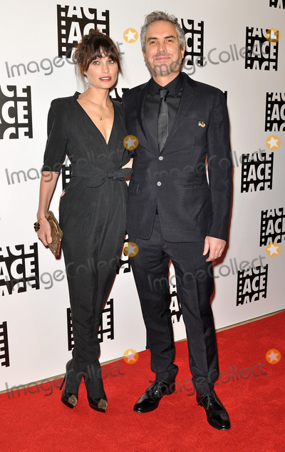Sheherazade Goldsmith Photo - 07 February 2014 - Beverly Hills California - Alfonso Cuaron and Sheherazade Goldsmith 64th Annual ACE Eddie Awards held at the Beverly Hilton Hotel Photo Credit Christine ChewAdMedia