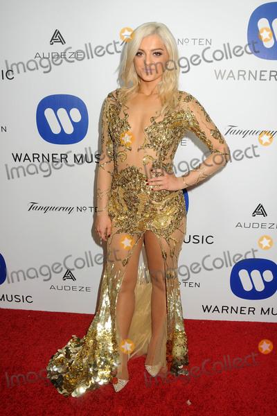 Bebe Rexha Photo - 15 February 2016 - Los Angeles California - Bebe Rexha Warner Music Group 2016 Grammy Party held at Milk Studios Photo Credit Byron PurvisAdMedia