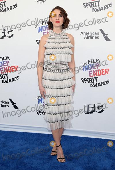 Alison Brie Photo - 03 March 2018 - Santa Monica California - Alison Brie 33rd Annual Film Independent Spirit Awards held at the Santa Monica Pier Photo Credit F SadouAdMedia