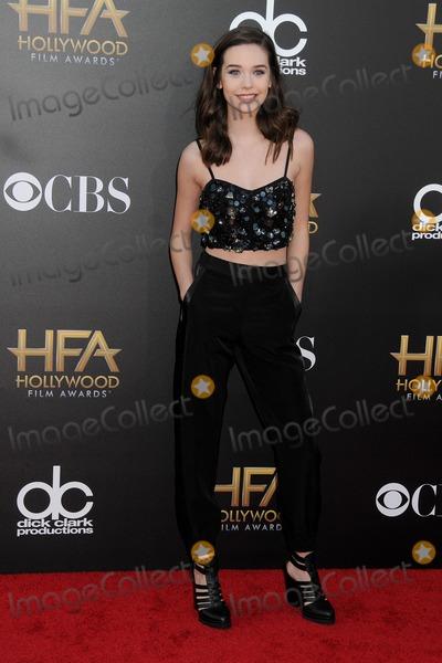 Amanda Steele Photo - 14 November 2014 - Hollywood California - Amanda Steele 18th Annual Hollywood Film Awards - Arrivals held at the Hollywood Palladium Photo Credit Byron PurvisAdMedia