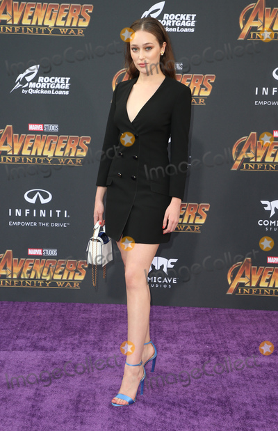 Alycia Debnam-Carey Photo - 23 April 2018 - Hollywood California - Alycia Debnam Carey Disney and Marvels Avengers Infinity War Los Angeles Premiere held at Dolby Theater Photo Credit F SadouAdMedia