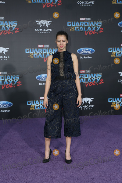 Amber Midthunder Photo - 19 April 2017 - Hollywood California - Amber Midthunder Premiere Of Disney And Marvels Guardians Of The Galaxy Vol 2 held at Dolby Theatre Photo Credit PMAAdMedia
