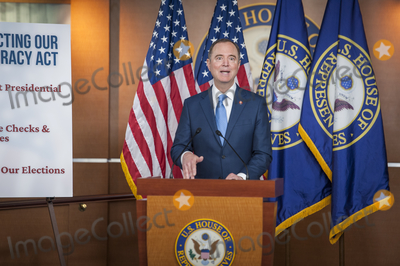 Adam Schiff Photo - United States Representative Adam Schiff (Democrat of California) offers remarks during a press conference on reforms package at the US Capitol in Washington DC Wednesday September 23 2020 Credit Rod Lamkey  CNPAdMedia