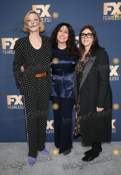 CATE BLANCHETTE Photo - 09 January 2020 - Pasadena Dahvi Waller Cate Blanchett Stacey Sher FX Networks Star Walk Winter Press Tour 2020 held at Circa 55 Restaurant in The Langham Huntington Photo Credit FSAdMedia